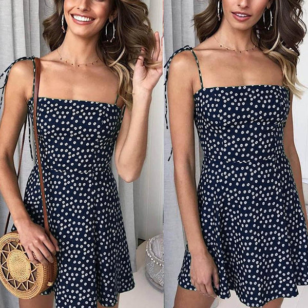 Gosfashion Polka-Dot Mini Dress