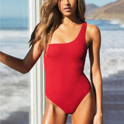 Gosfashion 2019 New One-Piece Swimsuit Sexy Bikini