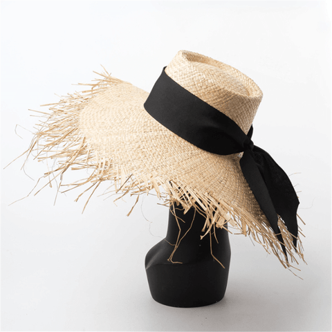 Gosfashion Spring And Summer Hand-Woven Straw Hat
