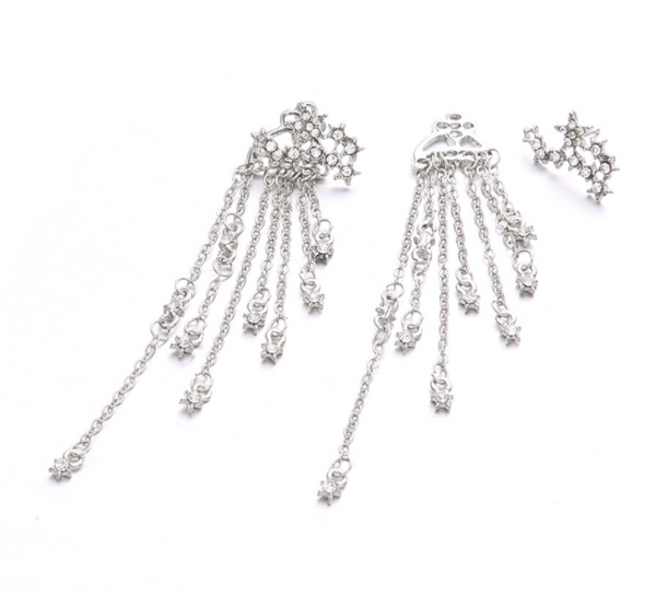 Gosfashion Shining Star Tassel Earrings
