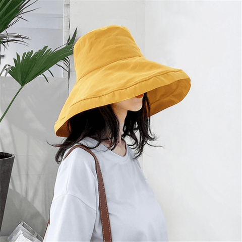 Gosfashion Spring And Summer Sunscreen Sunscreen Simple Hat