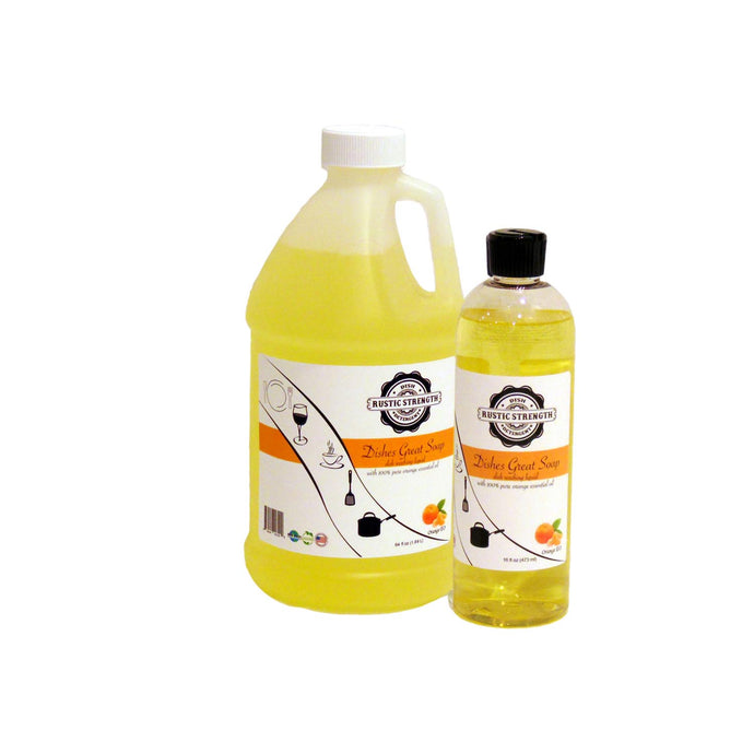 Dishes Great Soap Orange scented