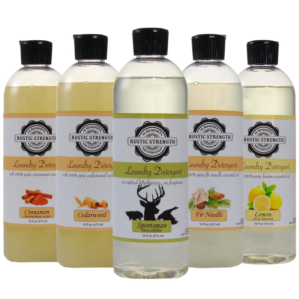 Forest Trail Laundry Detergent Sample Pack Set