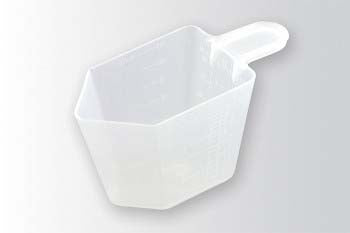 Measuring cup for laundry detergent
