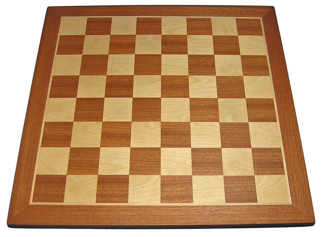 "Slightly Imperfect: Golden Rosewood and Maple Chess Board - 1.5"" Squares"