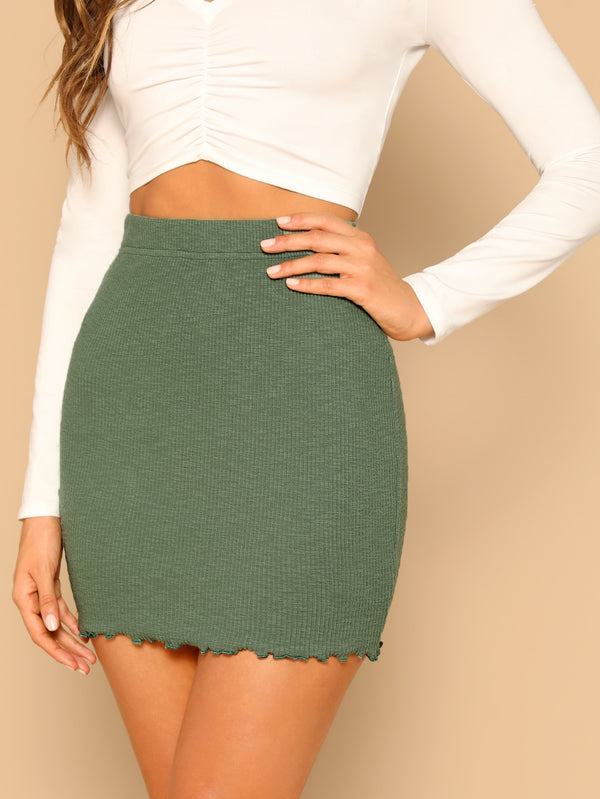 Strick Bodycon Rock