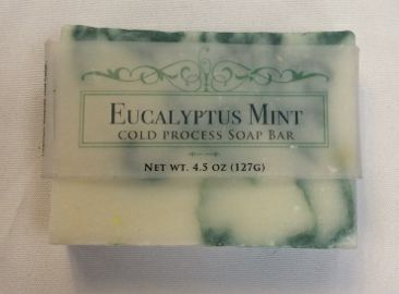 Eucalyptus Mint Sliced Soap