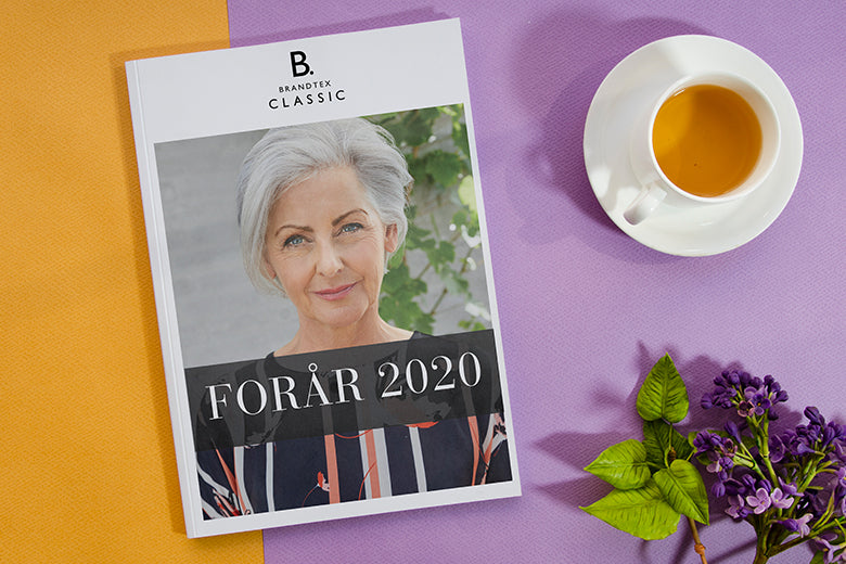 Inspirationskatalog for Brandtex Classic forår 2020