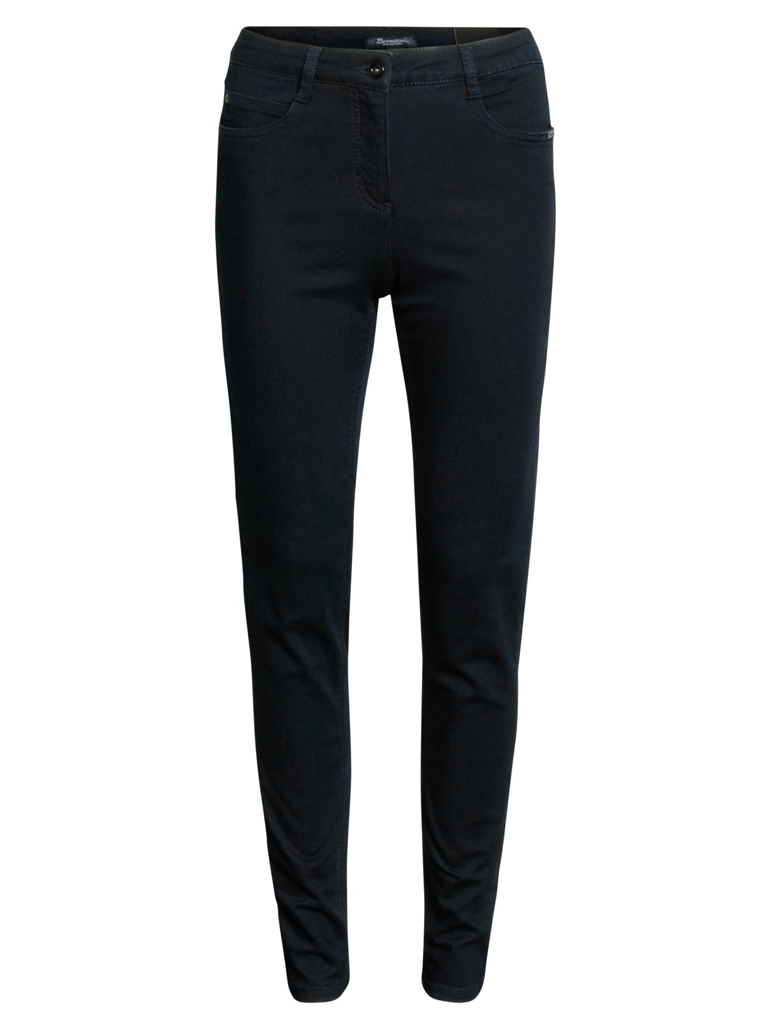 Image of   Jeans med superstræk Madelaine - Midnight Blue