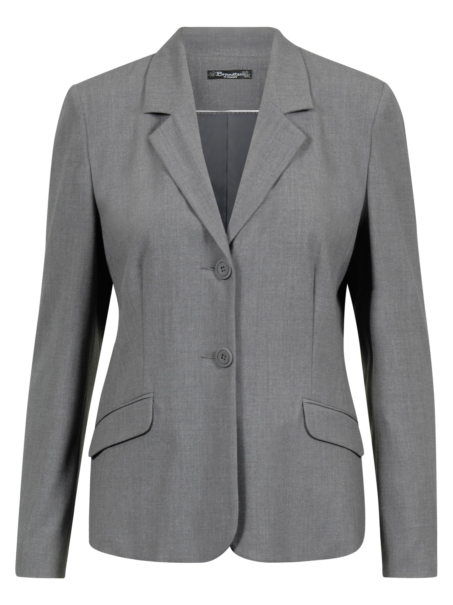 Image of   Blazer-jakke - Grey mell.