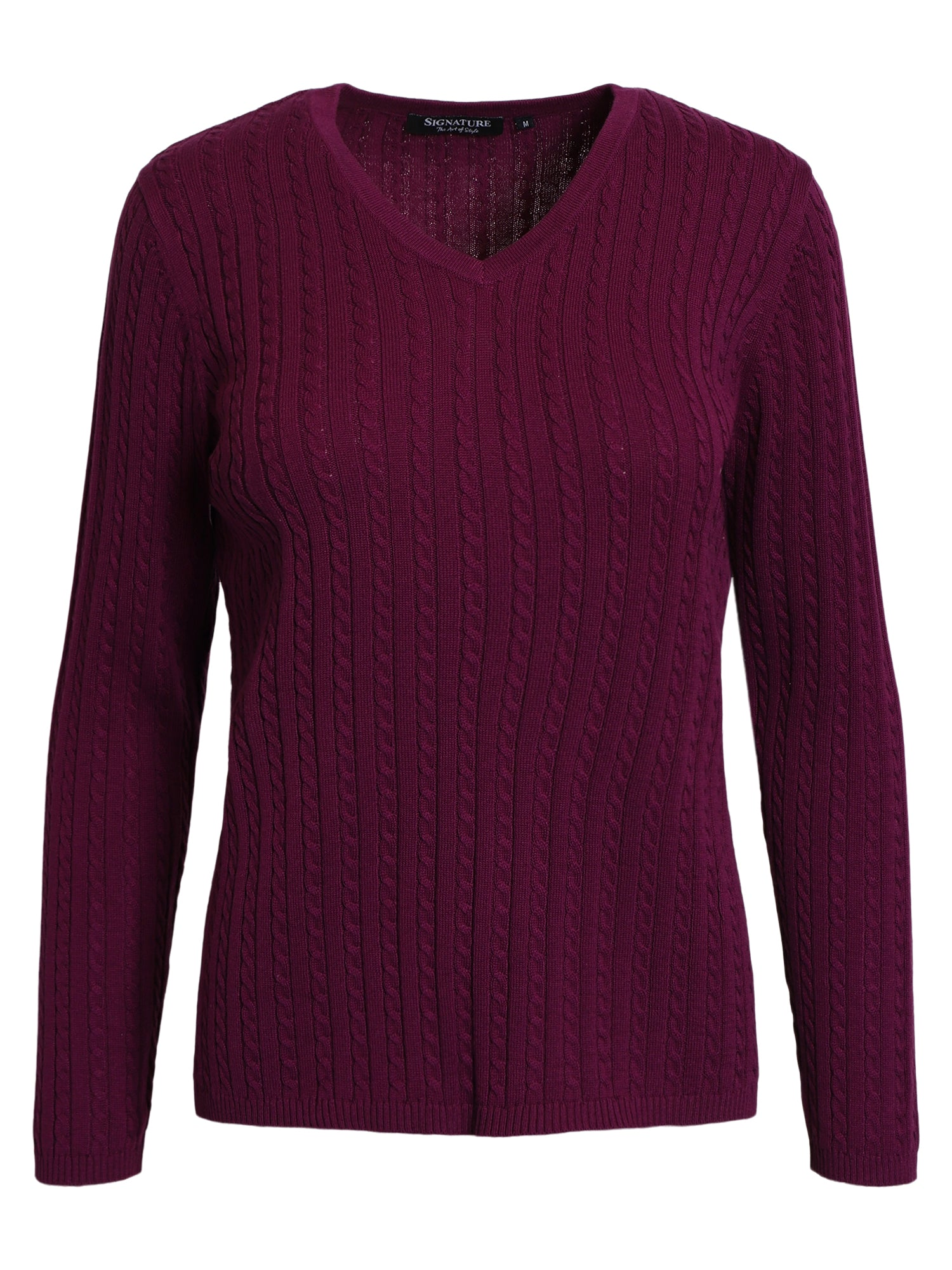 Image of   Pullover - Dk. Purple