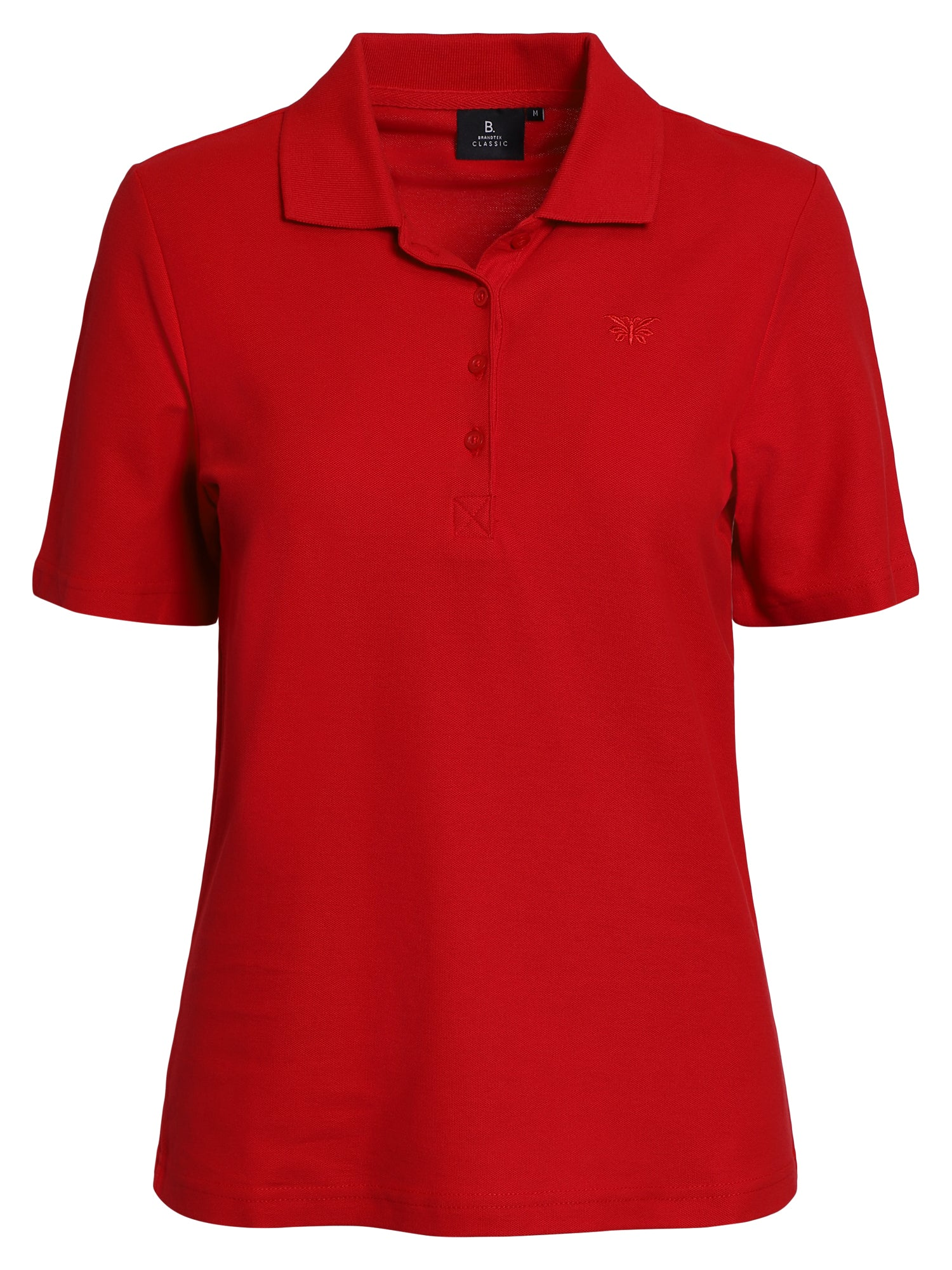 Image of   Polo-t-shirt - Scarlet
