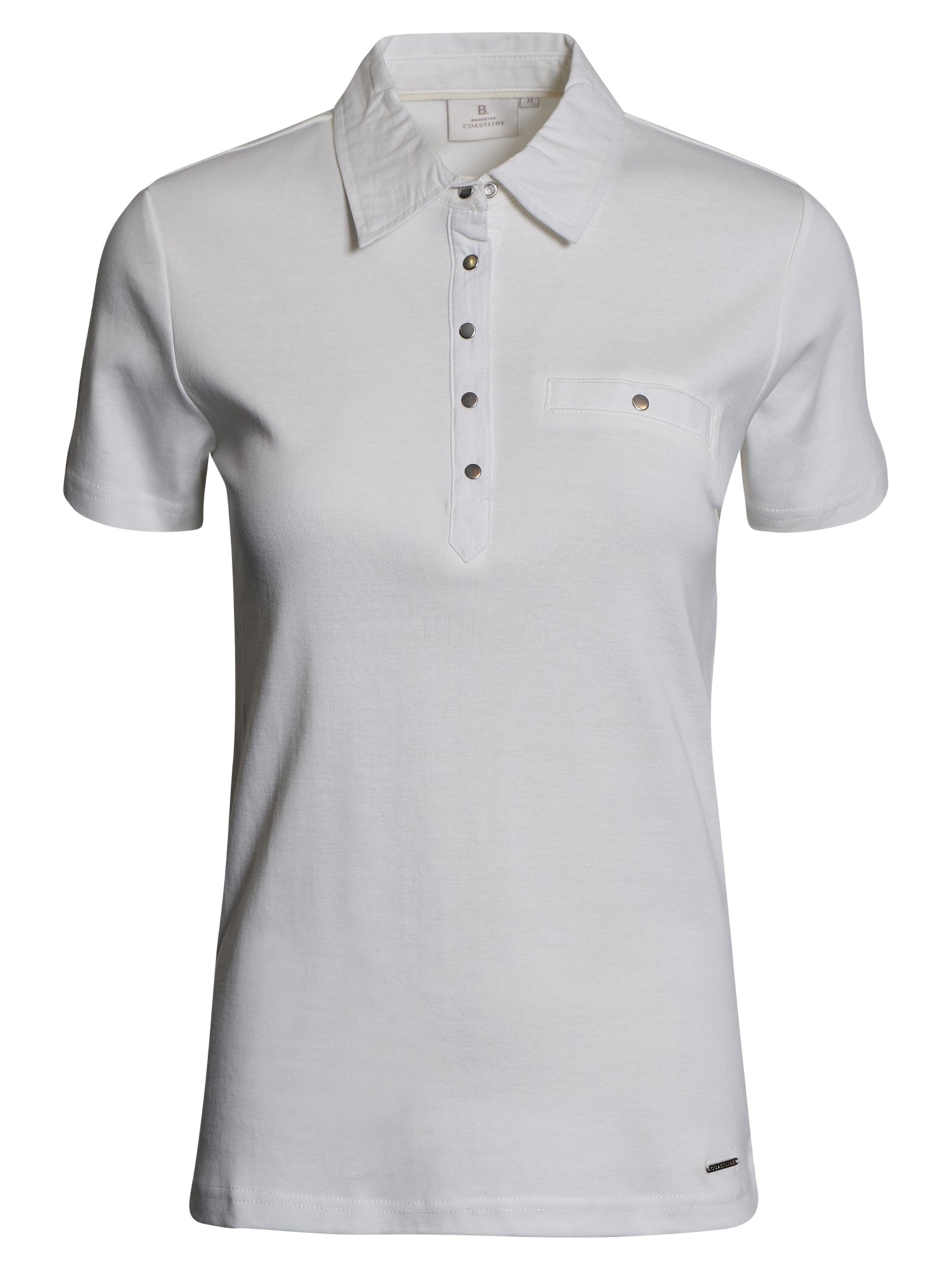 Image of   Polo-t-shirt - Off White
