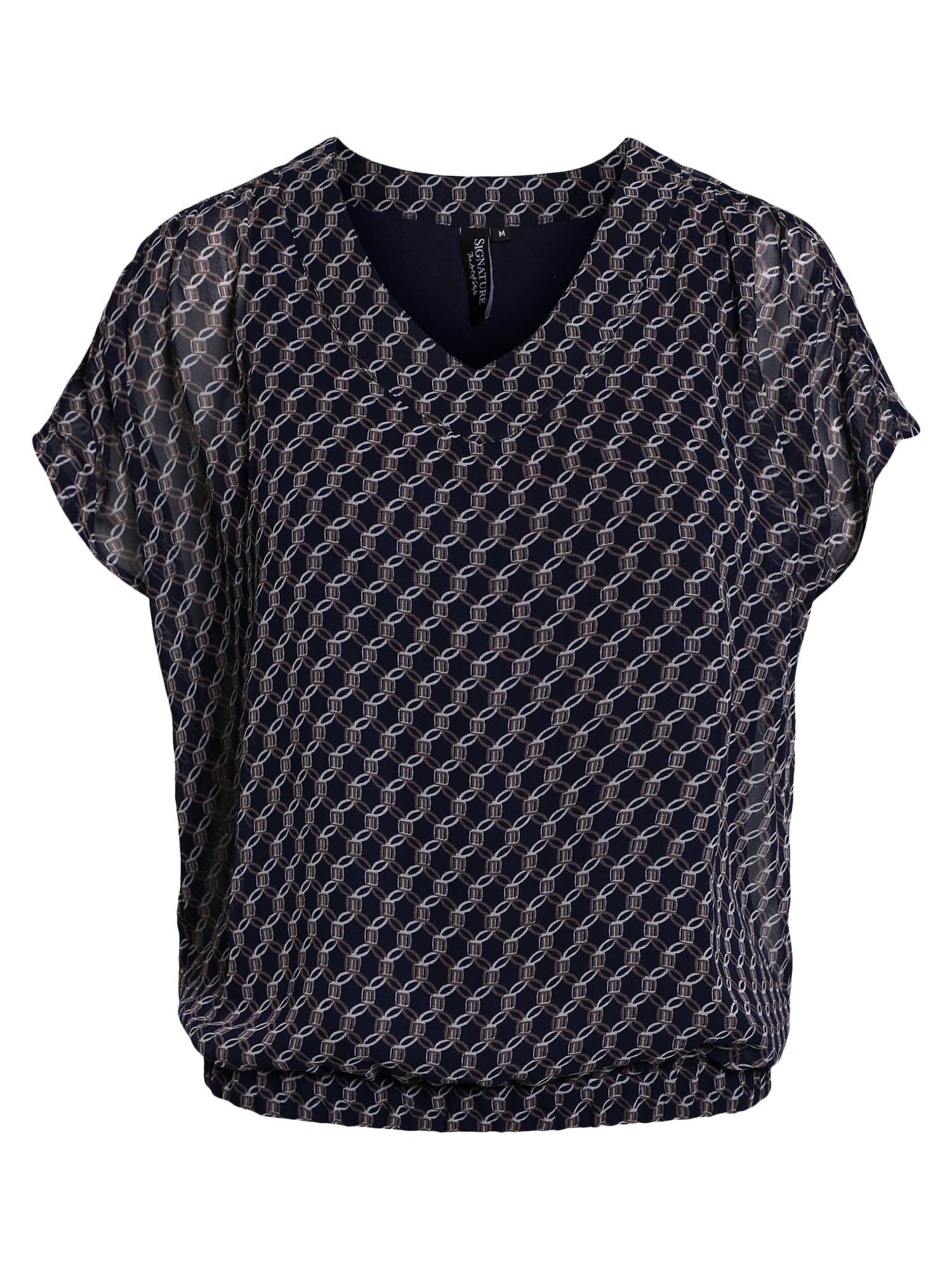Image of   Bluse DeLuxe - Midnight Blue