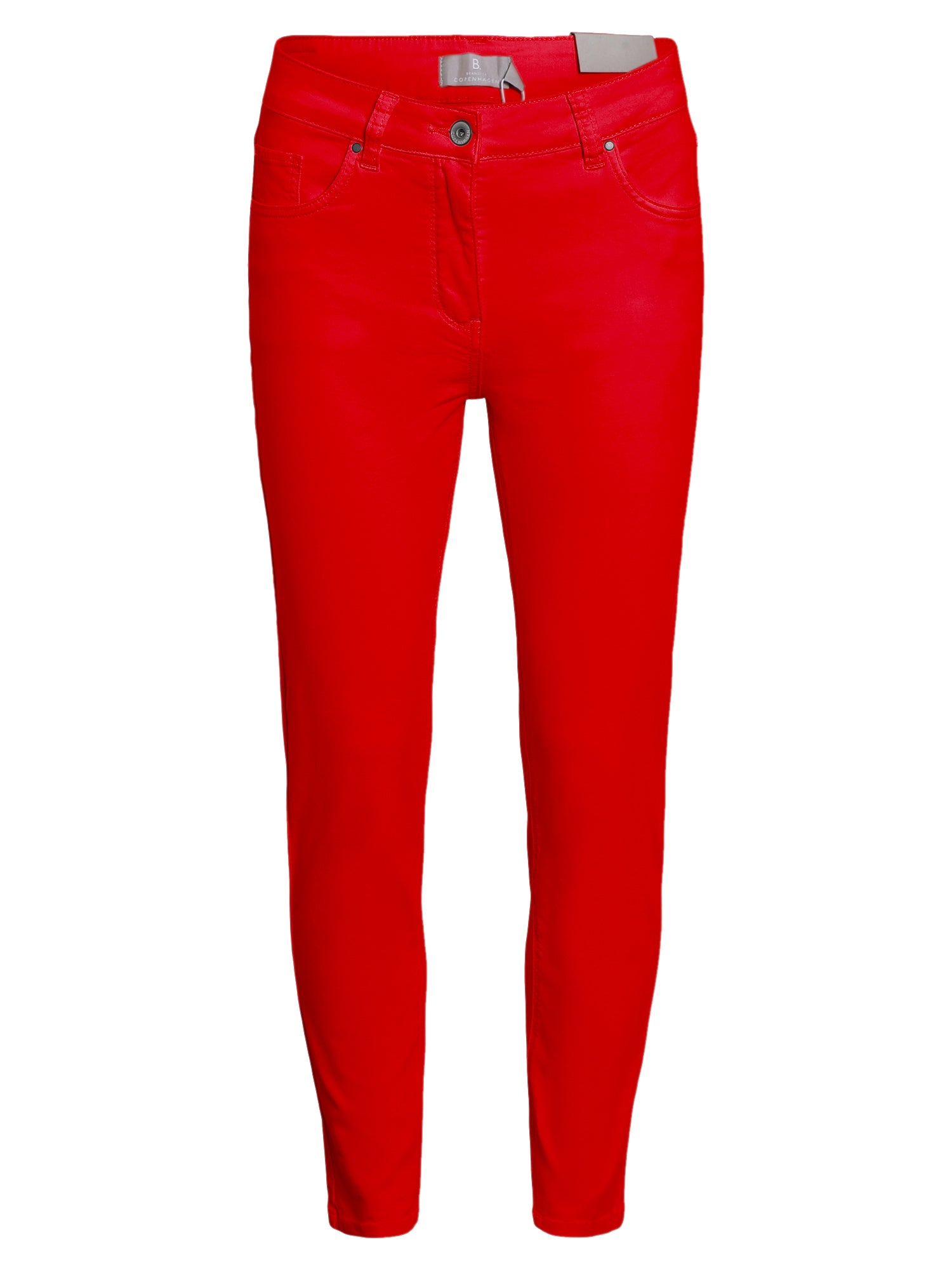 Image of   7/8 Jeans Madelaine - Tomato