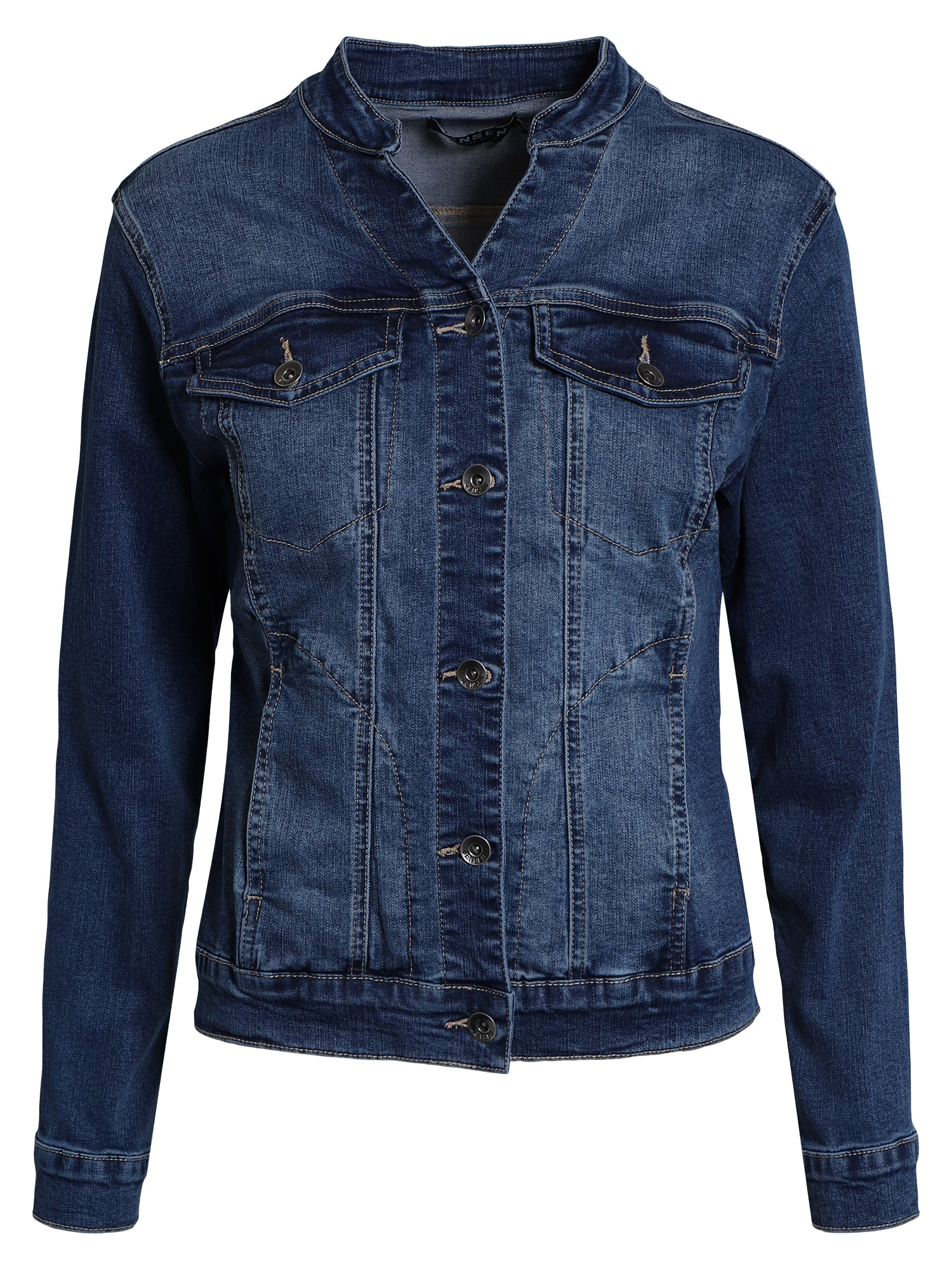 Image of   Denim jakke - denim w. blast