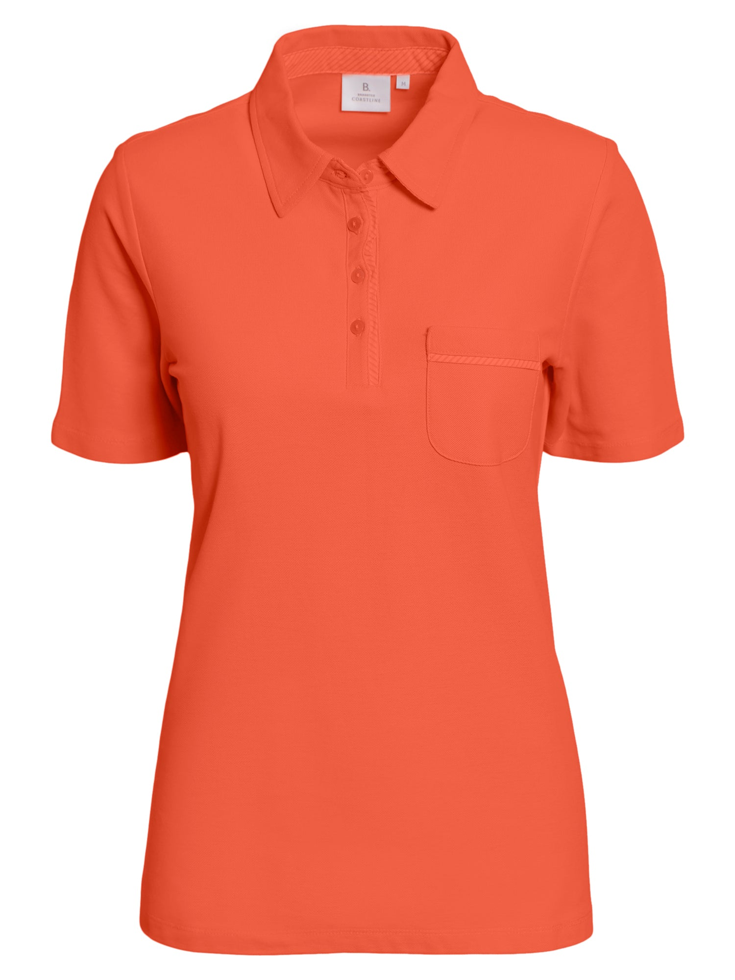 Image of   Polo T-shirt - Living Coral