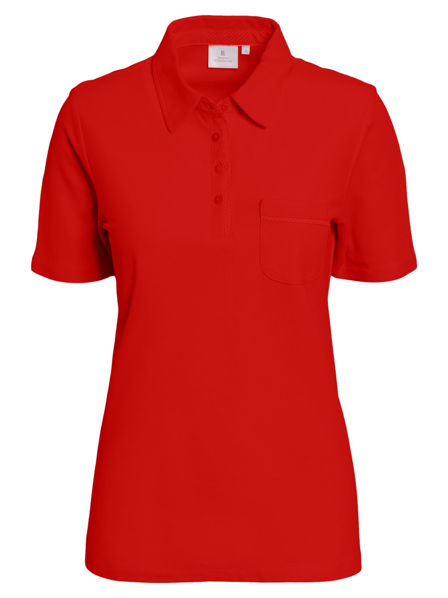 Image of   Polo T-shirt - Highrisk Red