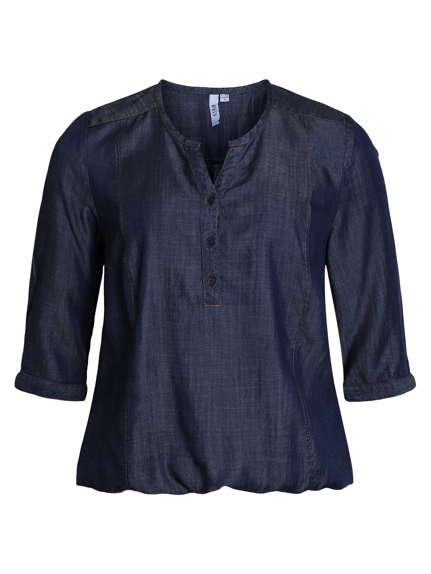 Image of   Bluse - Denim Blue