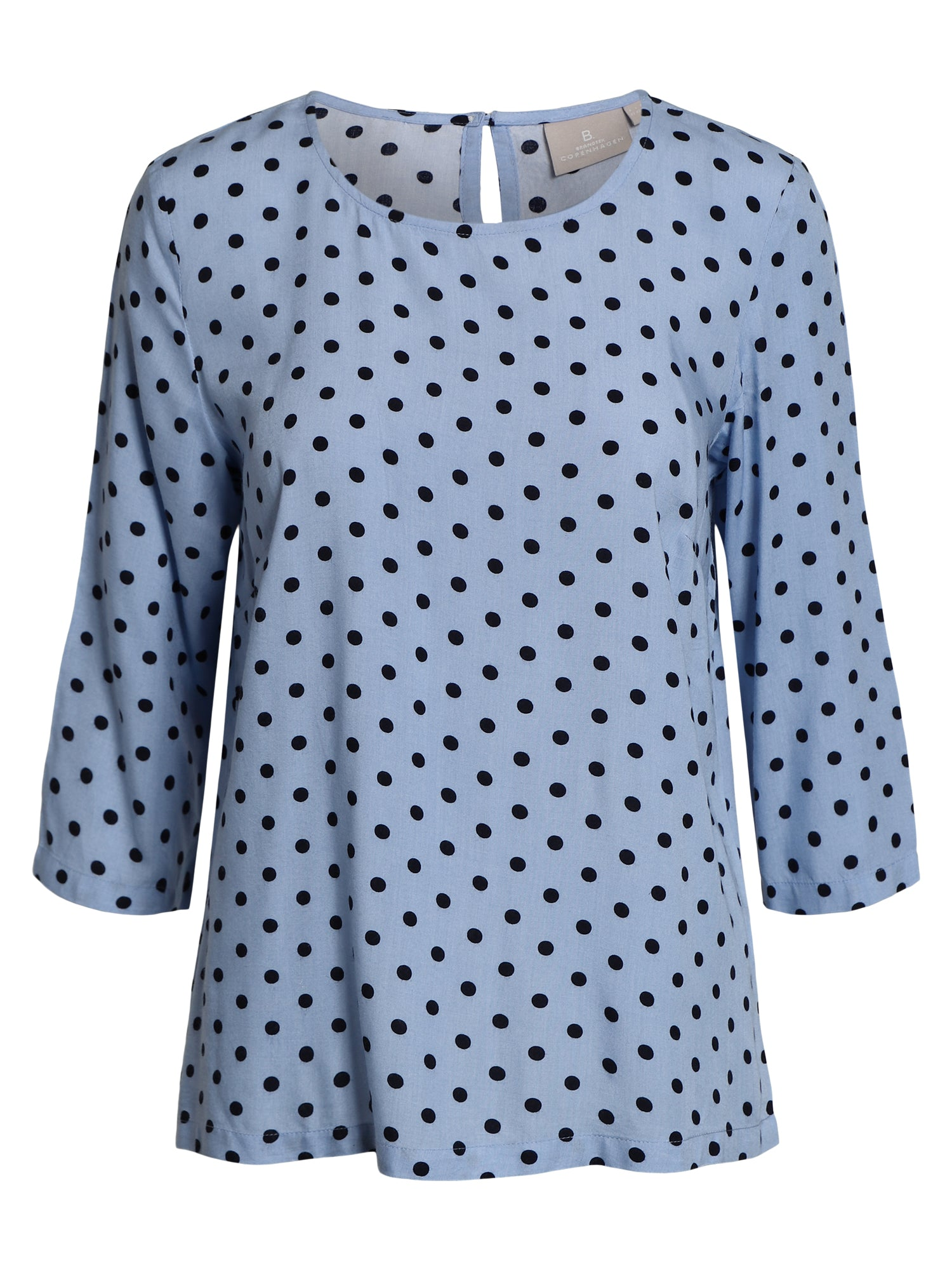 Image of   Bluse - Chambray Blue