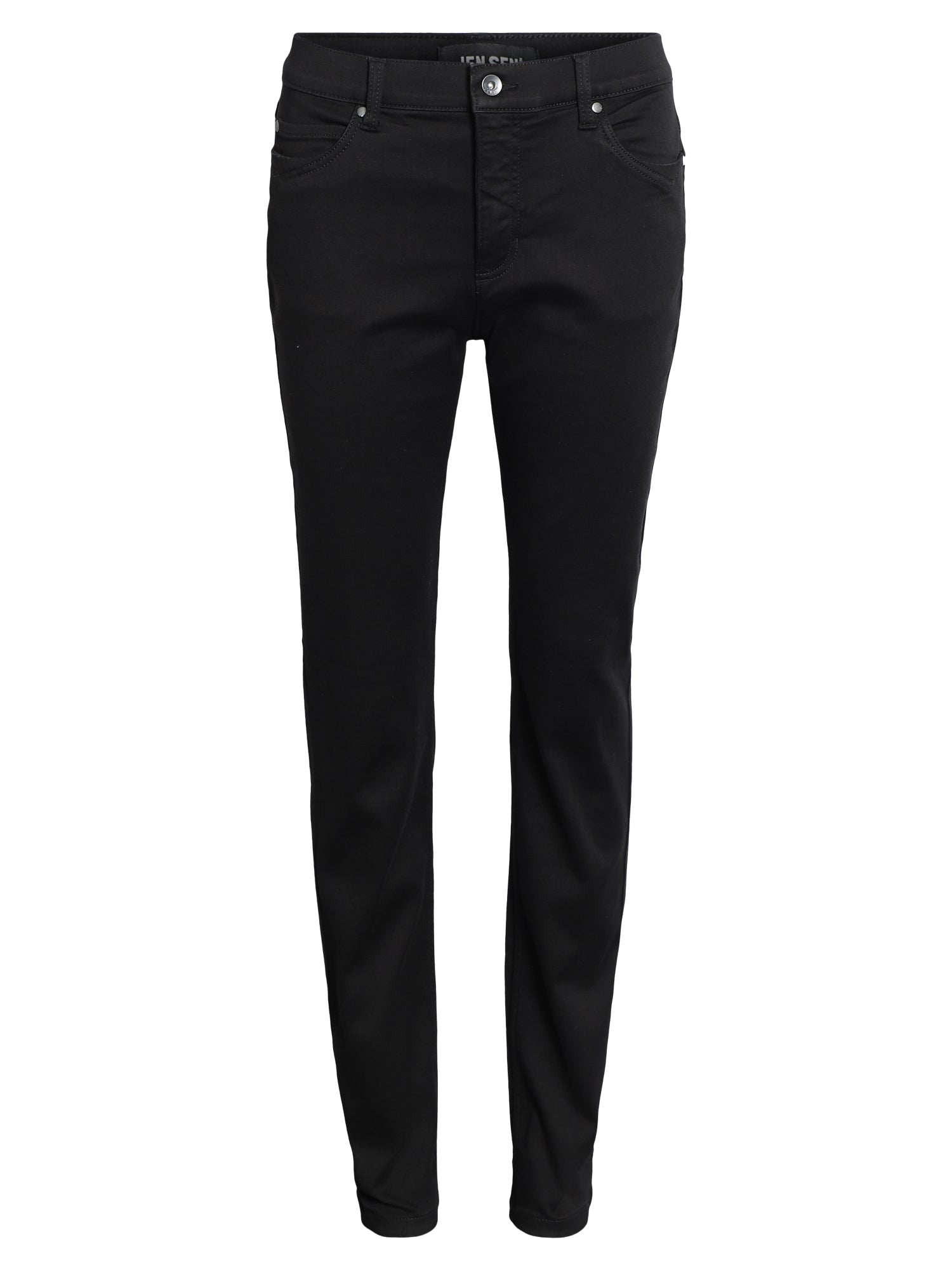 Image of   Jeans Joyce - Black tone in tone