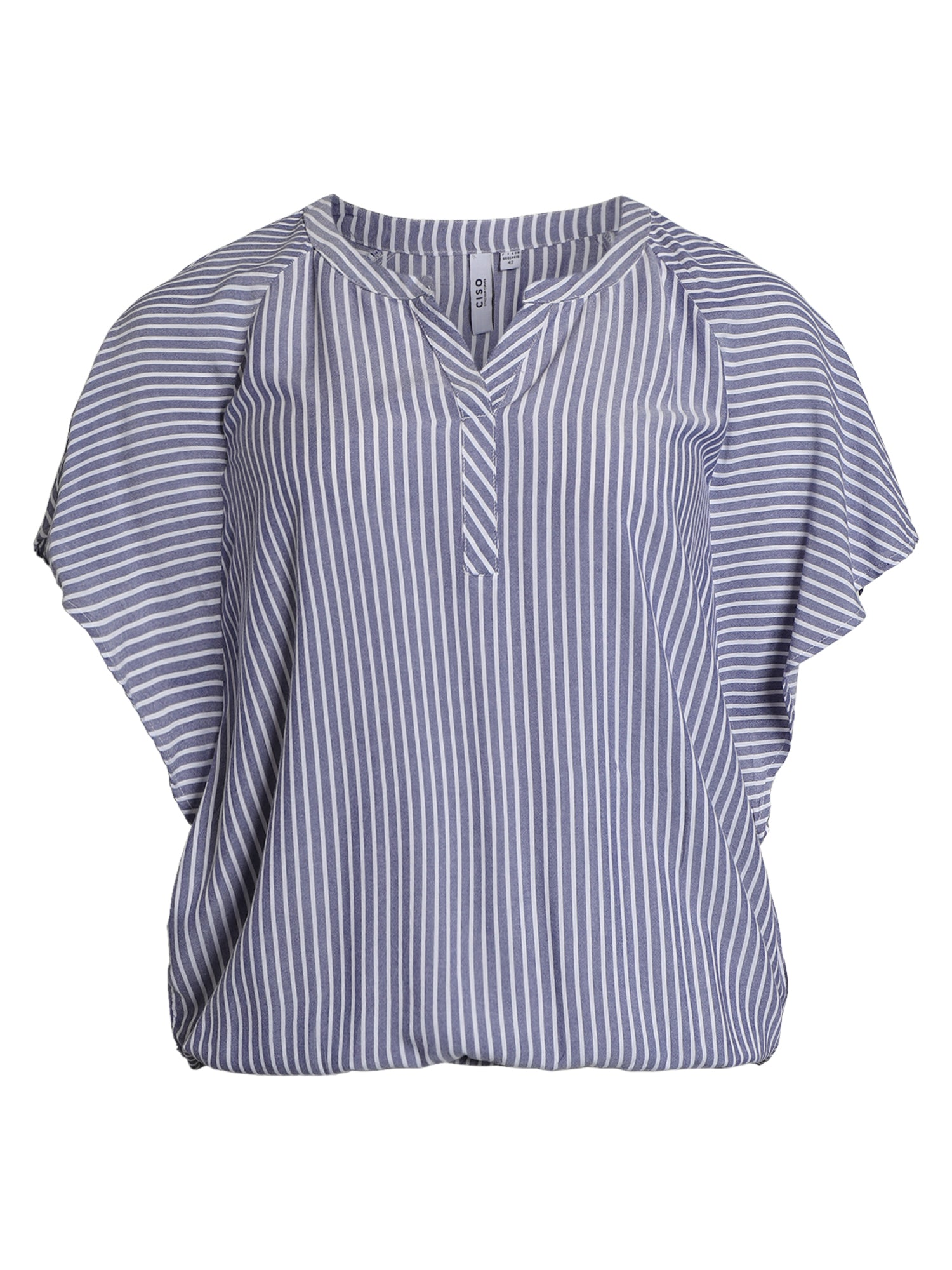 Image of   Bluse - Sky Blue Stripe