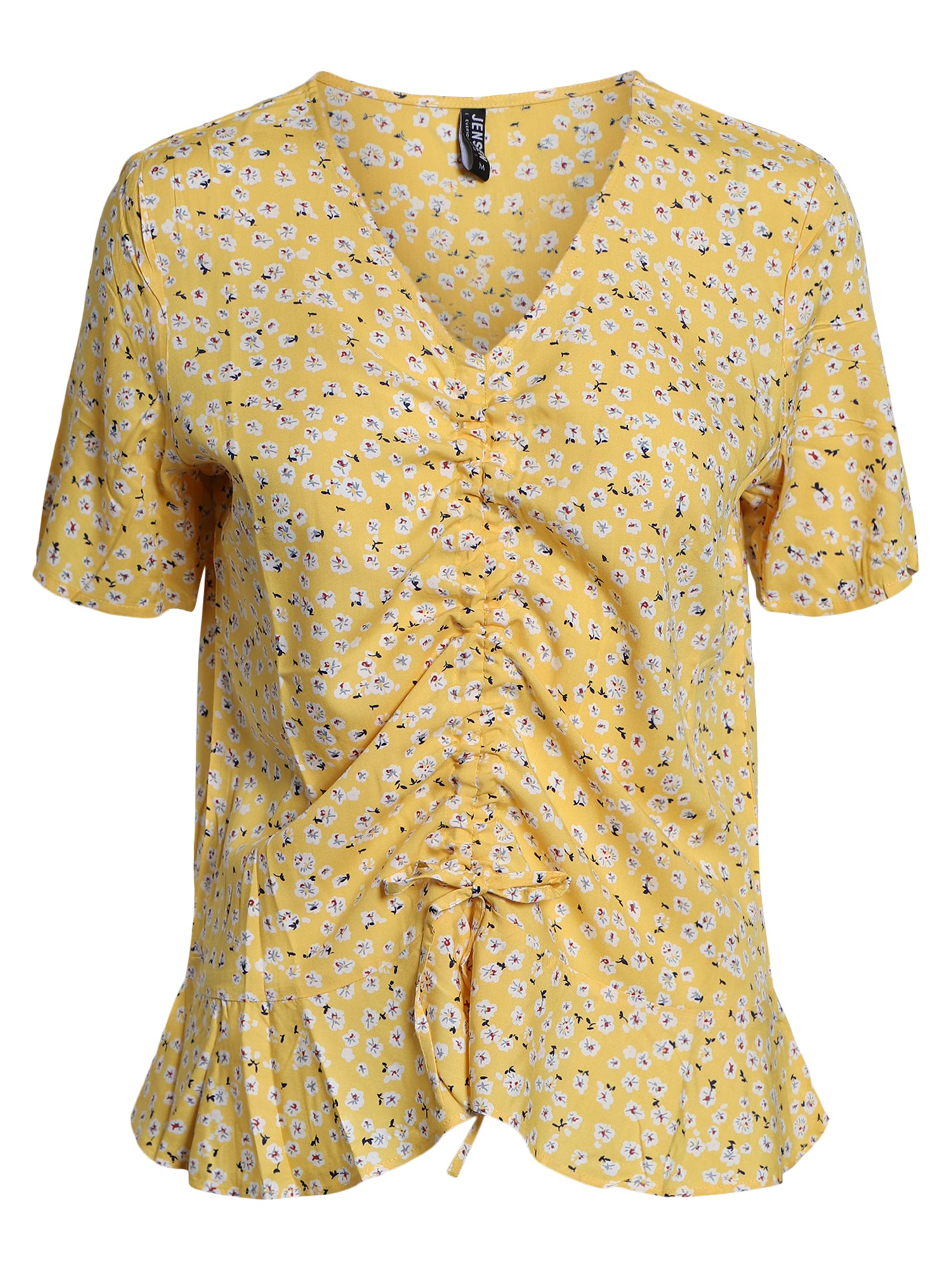 Image of   Bluse - Golden Yellow mix