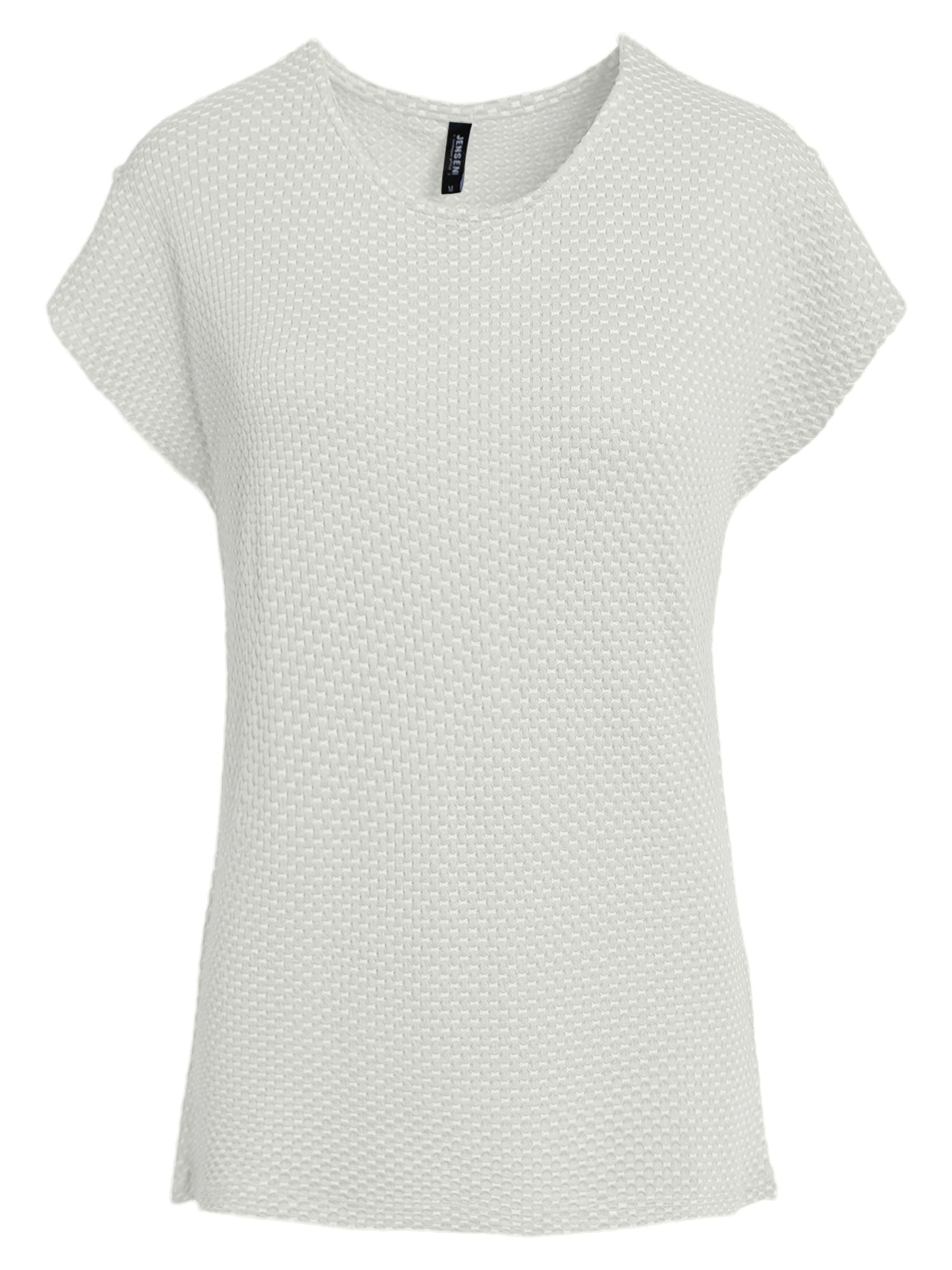 Image of   Jacquard T-shirt - Off White
