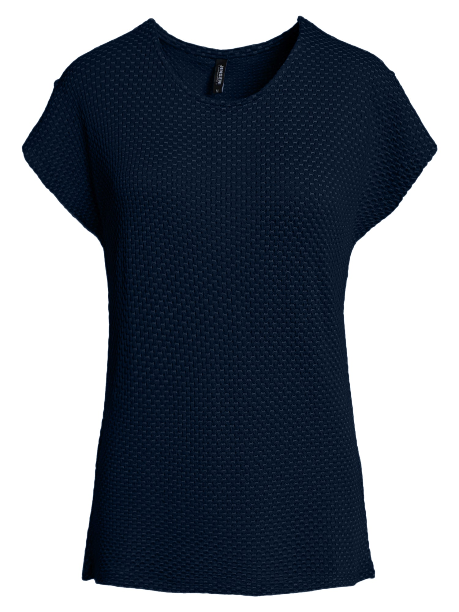 Image of   Jacquard T-shirt - Navy