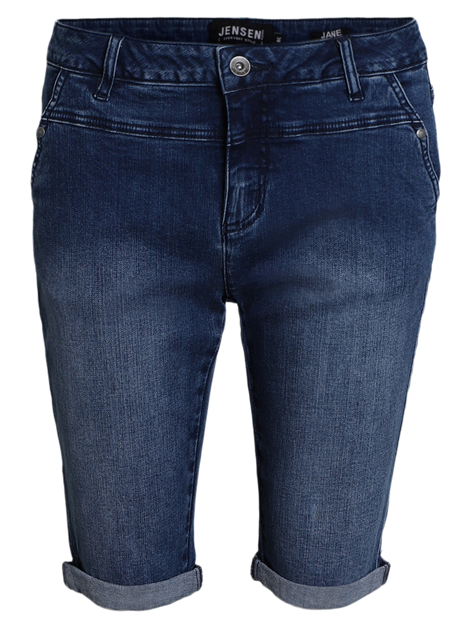 Image of   Jeans bermuda Jane - denim w. blast