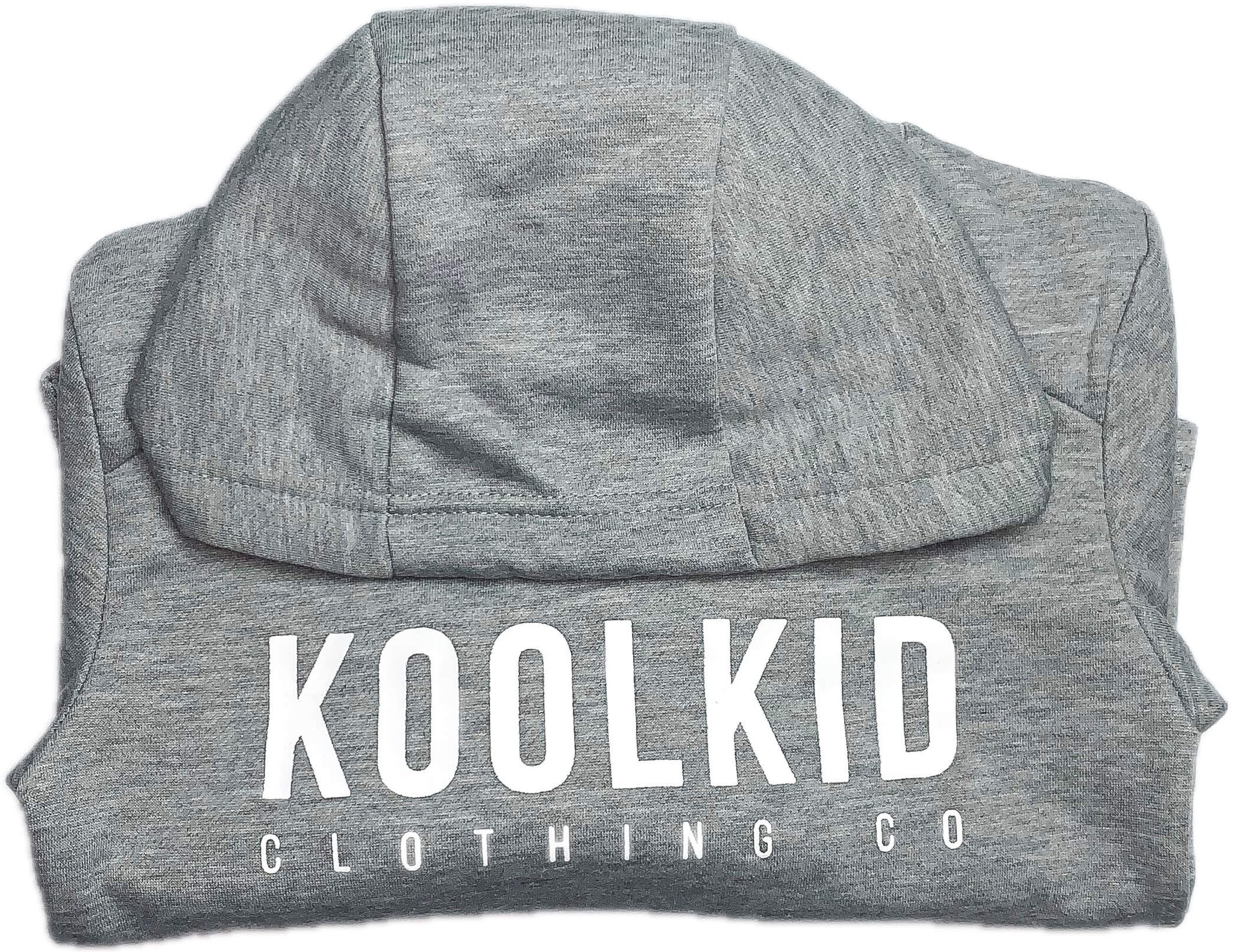 KOOLKID FITTED HOODIE//GRAY