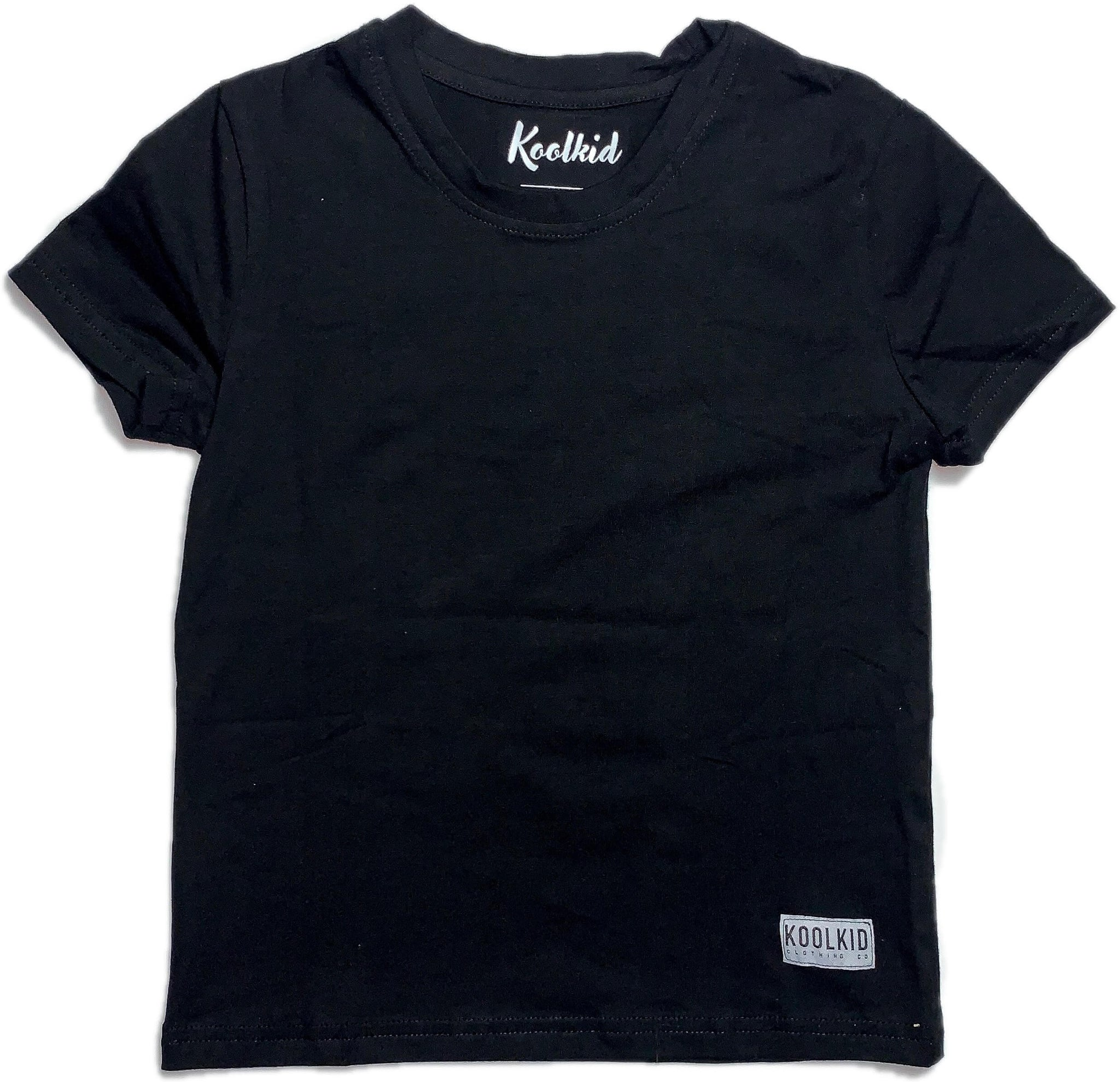 KOOLKID BACK LOGO TEE//BLACK