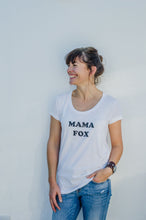 Load image into Gallery viewer, 100% Organic Cotton 'Mama Fox' T-shirt