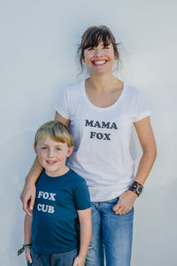 100% Organic Cotton 'Mama Fox' T-shirt