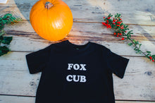 Load image into Gallery viewer, 100% Organic Cotton 'Fox Cub' Tee