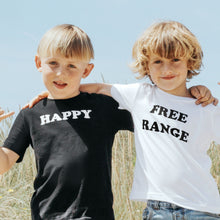 Load image into Gallery viewer, 100% Organic Cotton 'Happy' Tee