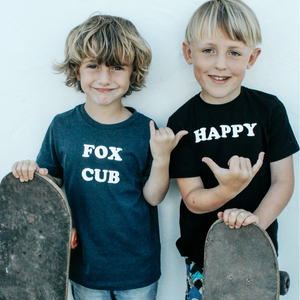 100% Organic Cotton 'Fox Cub' Tee