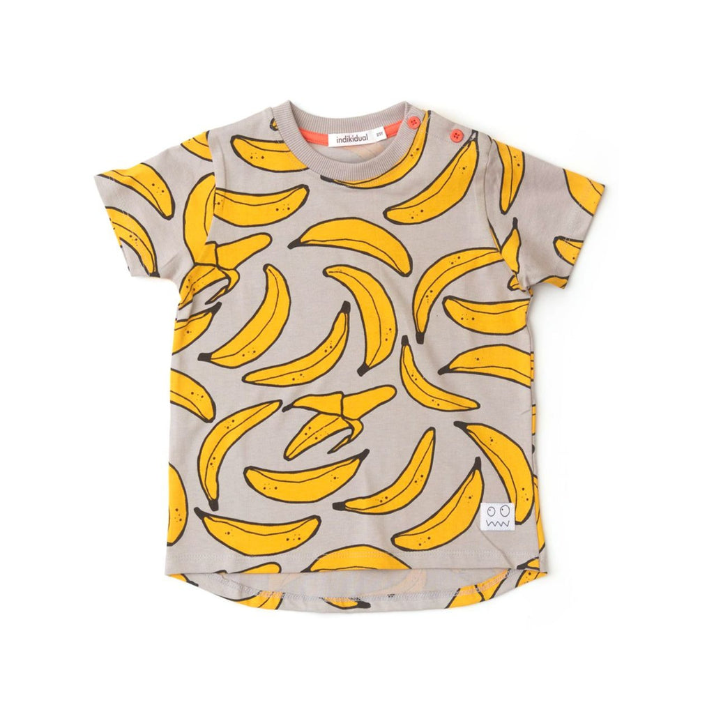 INDIKIDUAL 'BANANA SPLIT' Organic Cotton T-Shirt