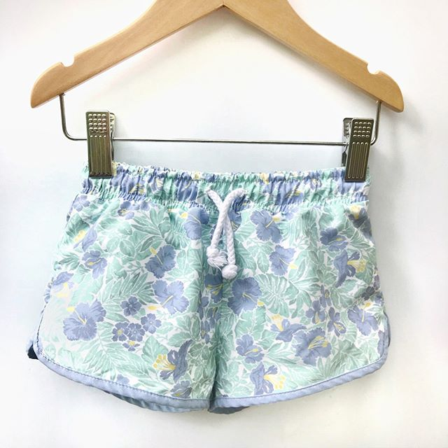 HARRY & POP Boardshort Freshwater Floral