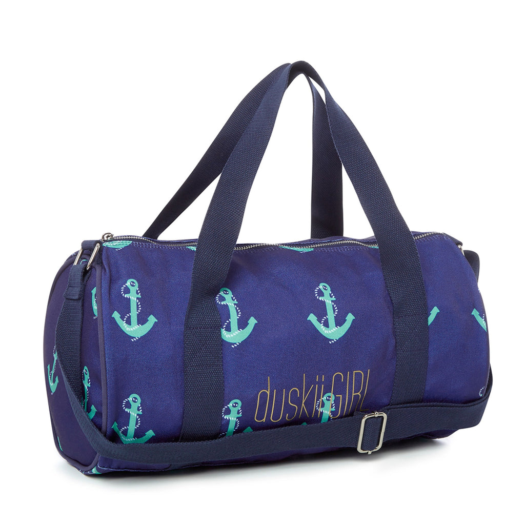 DUSKII GIRL Cotton Canvas Duffle Bag