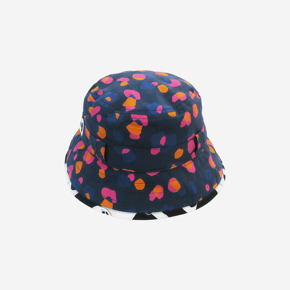 LITTLE HOTDOG WATSON The Adventurer Bucket Hat Navy Kin