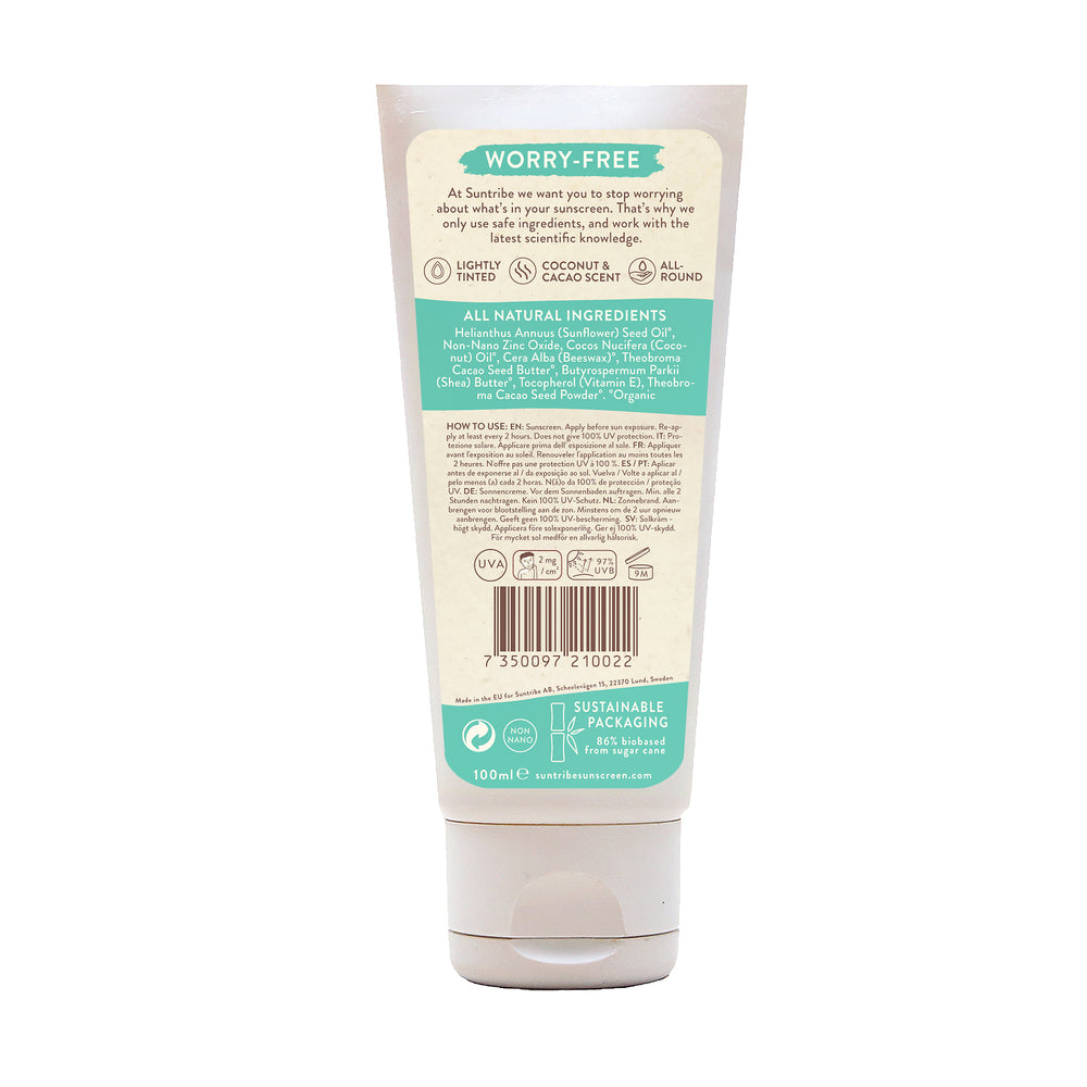 SUNTRIBE All Natural Mineral Body and Face Sunscreen SPF 30