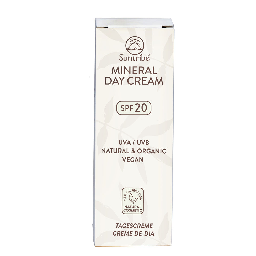 SUNTRIBE All Natural Mineral Day Cream SPF 20