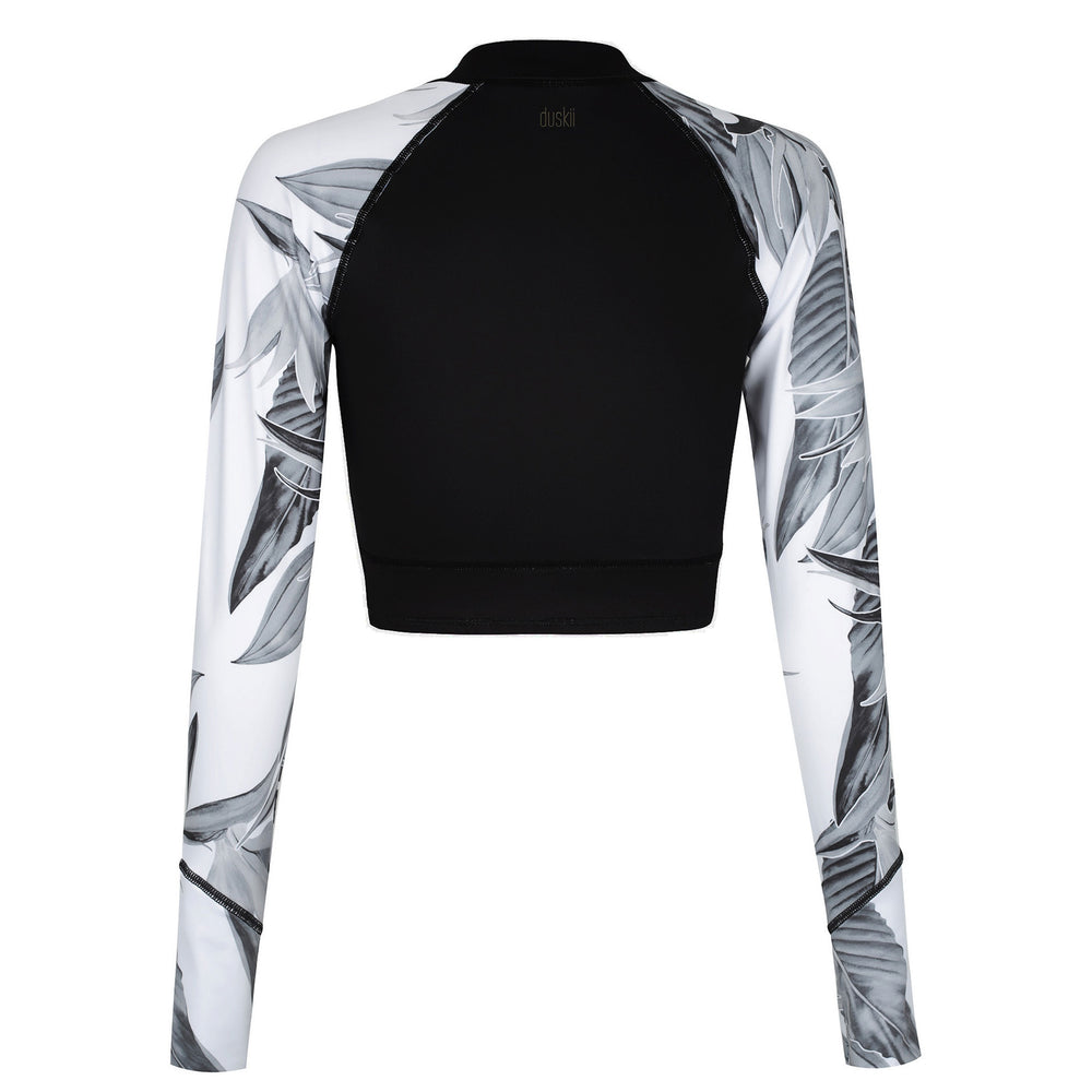 DUSKII Caipirinha Cropped Rash Guard in Shadows