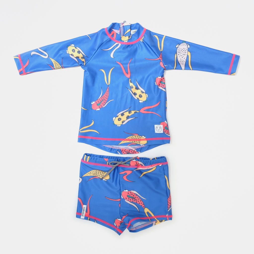 INDIKIDUAL 'Fin' Sun-Safe Swim Set