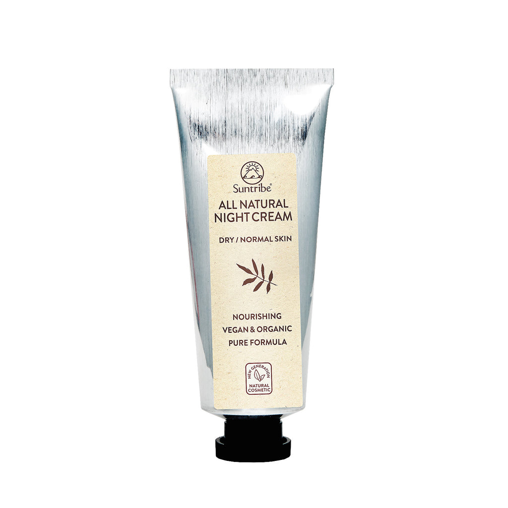 SUNTRIBE All Natural Night Cream Almond & Jojoba
