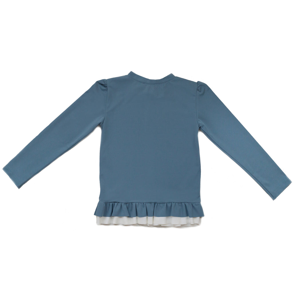 FOLPETTO Lucie Rashguard in Dusty Blue
