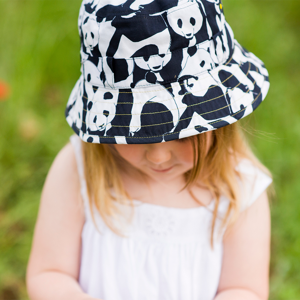 The Adventurer Bucket Hat Panda Pop