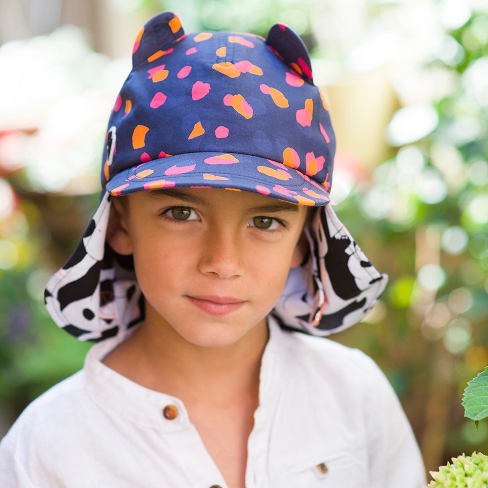 The Cub Cotton Hat Navy Kin