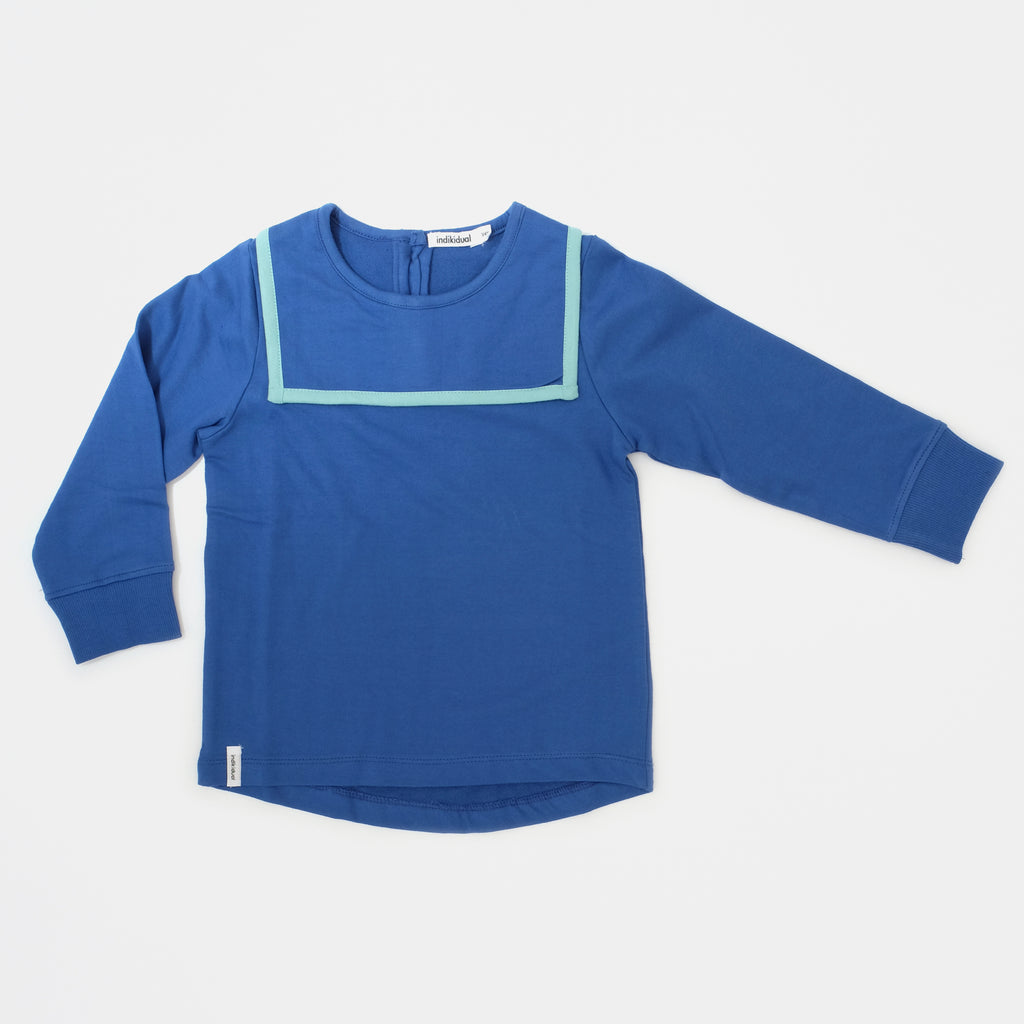 INDIKIDUAL 'Moon' Organic Cotton Sailor Sweatshirt